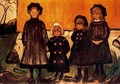 Four Girls at Asgardstrand - Edvard Munch