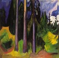 Forest - Edvard Munch