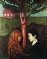 Eyes in eyes 1884 - Edvard Munch