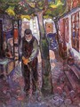 Old Man in Warnemunde - Edvard Munch