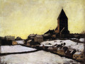 Old Aker Church - Edvard Munch