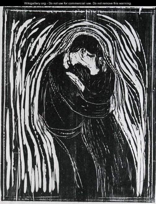 The Kiss 2 - Edvard Munch