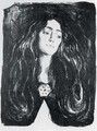 The Brooch. Eva Mudocci - Edvard Munch