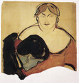 Young man and prostitute 1893 - Edvard Munch