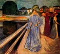 Women on the Bridge - Edvard Munch