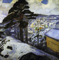 Winter at Kragerö 1912 - Edvard Munch