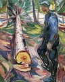 The Lumberjack - Edvard Munch