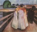 The Ladies on the Bridge 2 - Edvard Munch