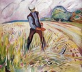 The Haymaker - Edvard Munch