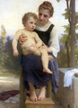 After the Bath - William-Adolphe Bouguereau