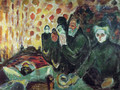 By the Deathbed - Edvard Munch