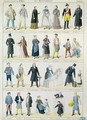 Costume designs for an adaptation of Les Miserables - Jules Marre