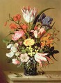 Flowers in a Vase - Jacob Marrel