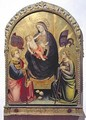 Madonna and Child with St Stephen and St Ursula - di Nardo Mariotto