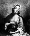 Portrait of Flora Macdonald 1722-90 - (after) Markluin, J