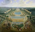 General view of the Chateau and the Pavilions at Marly 1722 - Pierre-Denis Martin