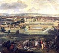 View of the Palace of Fontainebleau from the Parterre of the Tiber 1722 - Pierre-Denis Martin