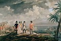 Napoleon Bonaparte 1769-1821 on St Helena in 1816 - (after) Martinet, Francois