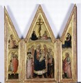 Triptych with Madonna and Child 1400 - di Bartolomeo di Biagio Martino