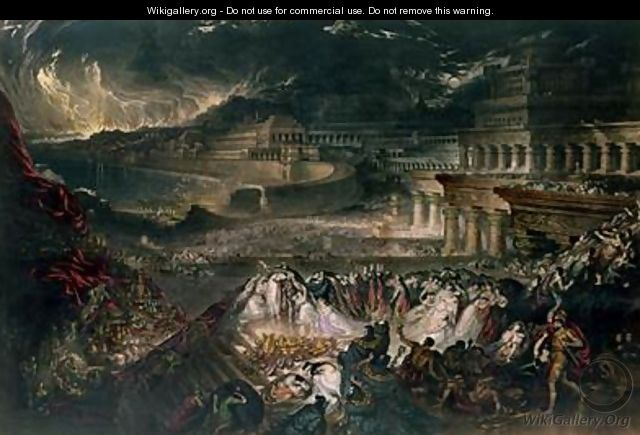 The Fall of Nineveh - John Martin
