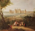 The Chateau de Chambord 1722 - Pierre-Denis Martin