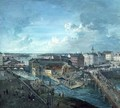 View of Stockholm from the Royal Palace 2 - Elias Martin