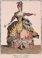 Costume for the Queen of the Sylphs in the Ballet of the Elements - Jean Baptiste Martin
