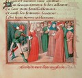 Joan of Arc at the stake - de Paris (known as Auvergne) Martial