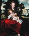 Madonna and Child - Jan Massys