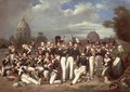 Company of the Second Legion in the Champ de Mars Paris 1836 - Auguste Antoine Masse