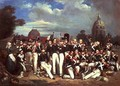 Company of the Second Legion in the Champ de Mars 1836 - Auguste Antoine Masse
