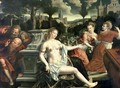 Susanna and the Elders 1567 - Jan Massys