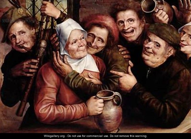 Merry Company 1562 - Jan Massys