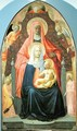 Madonna and Child with St Anne 1424-5 - T. & Masolino, T. Masaccio
