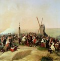 Louis Philippe 1773-1850 Visiting the Battlefield of Valmy on 8th June 1831 - Jean Baptiste Mauzaisse