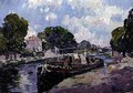 The Canal Boat Bougival - Paul Mathieu