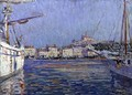 The Old Port Marseilles 1920 - Paul Mathieu