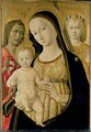 Madonna and Child with St John the Baptist and St Michael the Archangel 1485-95 - di Giovanni di Bartolo Matteo