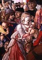 The Massacre of the Innocents detail of a soldier piercing a baby with his sword 1482 - di Giovanni di Bartolo Matteo