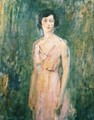 Lady in a Pink Dress 1927 - Ambrose McEvoy