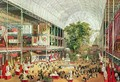 Interior View of Crystal Palace during the Great Exhibition of 1851 - (after) McNevin, J.