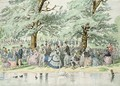A Summers Day in St Jamess Park London - William McConnell