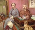 Chinese Merchants - Carl Peter Mazer