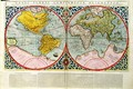 Map of the World from the Atlas sive cosmographicae 2 - Gerard Mercator