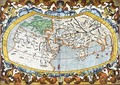 World map entitled Unviersalis tabula iuxta Ptolemeum