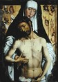 The Man of Sorrows in the Arms of the Virgin - (after) Memling, Hans