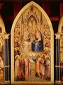 The Coronation of the Virgin and Other Scenes 1367 - Giusto di Giovanni de' Menabuoi