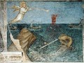 The Second Angel of the Apocalypse Creating a Storm 1360-70 - Giusto di Giovanni de' Menabuoi
