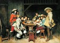 Innocents and Card Sharpers A Game of Piquet 1861 - (after) Meissonier, Jean-Louis Ernest