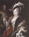 Portrait of Maria Luisa Gabriela of Savoy 1688-1714 first wife of Philip V - Miguel Jacinto Melendez